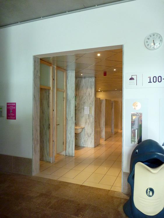 Runde Duschen Selbst Bauen : Auch die Duschen sind mit denen in Erding fast identisch